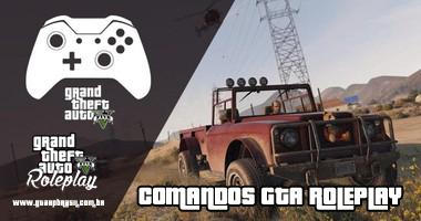 Comandos GTA V Roleplay