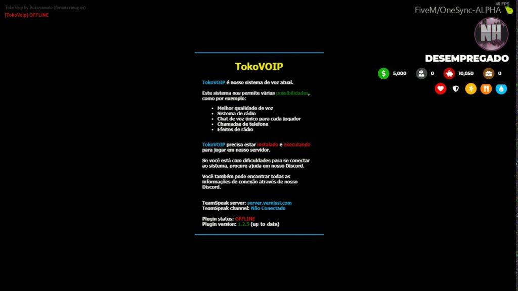 Como Instalar o Tokovoip Teamspeak | GTA Roleplay
