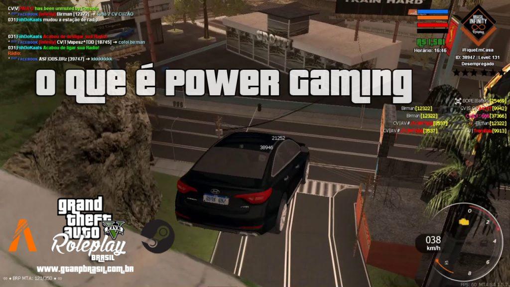 O que é Power Gaming GTA RP | GTA RP Brasil