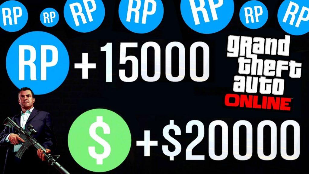 Como ganhar RP no GTA 5 Online e subir de nível