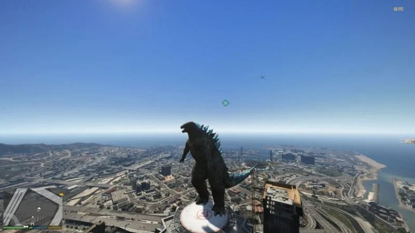 GTA 5 recebe novo mod com Godzilla no PC