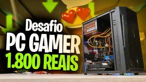 PC Gamer Para GTA RP Com Menos De 1.800 Reais