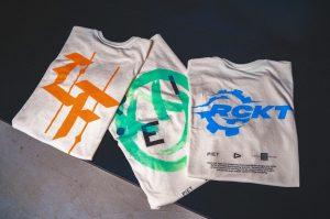 Camisetas do evento Baguncinha