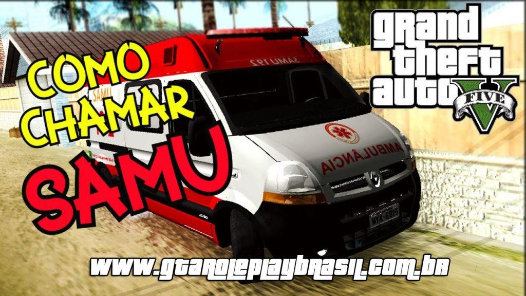 Como chamar ambulância no GTA RP? Como Trabalhar no Samu?