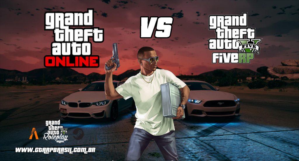 GTA Online vs GTA RP: O GTA RP é melhor do que o GTA online?