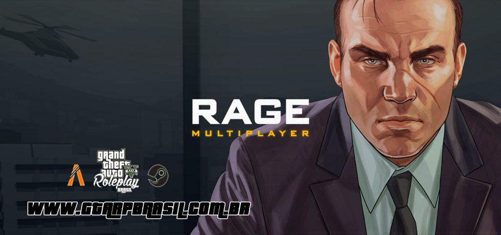 GTA RP - Como Jogar com Mod Rage Multiplayer (mp)