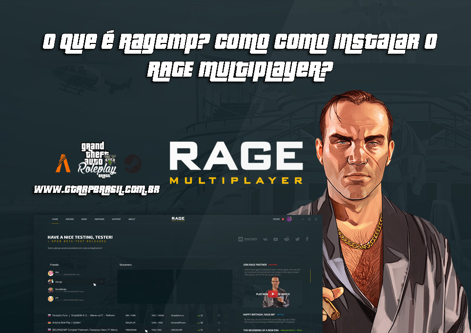O que é Ragemp? Como como instalar o RAGE Multiplayer