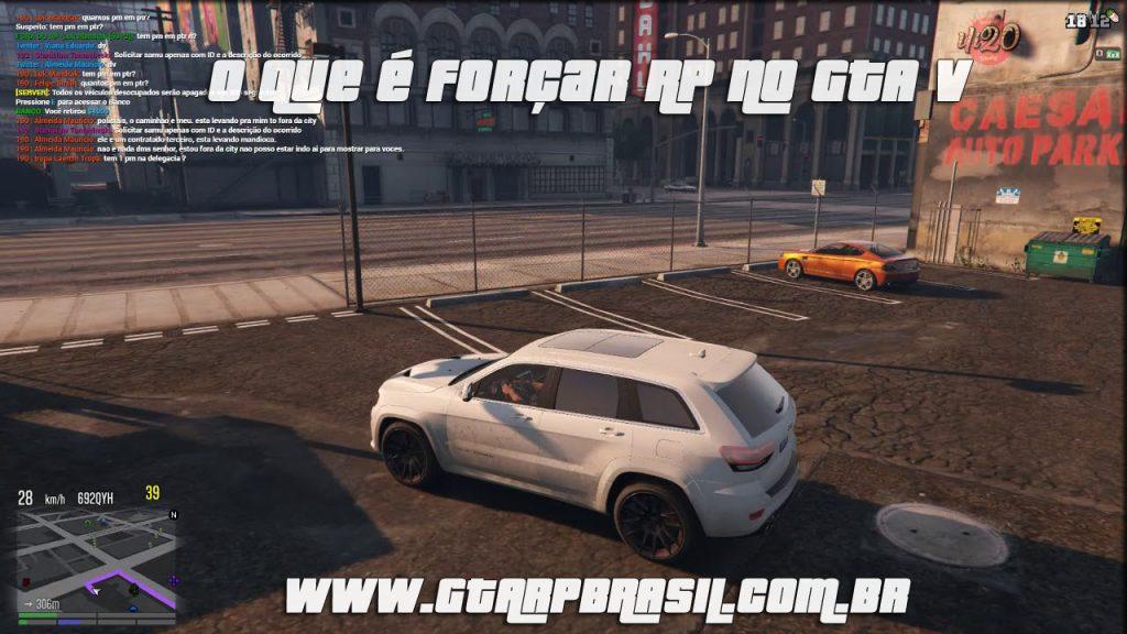O que é forçar RP no GTA V